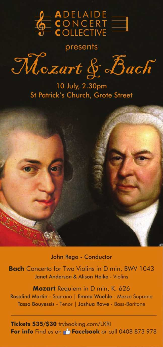 ACC Mozart and Bach Flyer