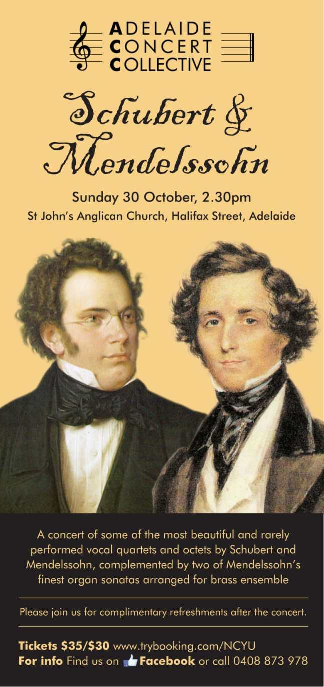 ACC Schubert and Mendelssohn WEB