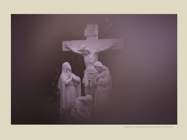 Station XII - Jesus dies on the cross