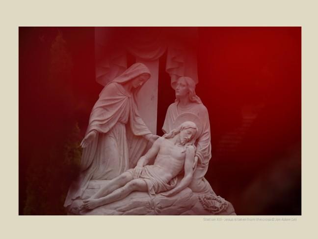 Station XIII - Jesus is taken from the cross